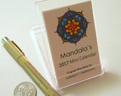 Mandala Mini Desk 2017 Calendar