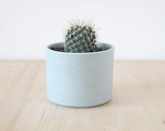 Mishima porcelain planter.