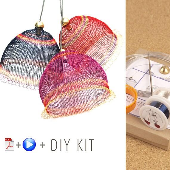 pendant light kit diy pendant light kits wire crochet kit home. Black Bedroom Furniture Sets. Home Design Ideas