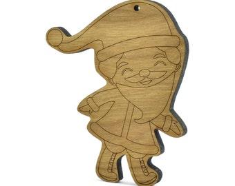Santa Personalized Christmas Ornament