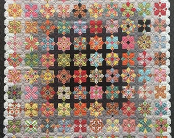 Sue Daley Quatro Colour Quilt Pattern Kit