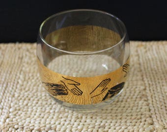 Percussion. 1960s mid century roly poly tumbler.