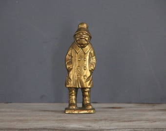 Solid Brass Sailor / Fisherman