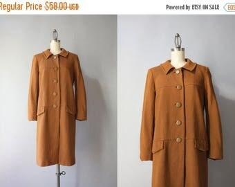 STOREWIDE SALE Vintage Linen Duster / 1960s Betty Rose Linen Coat / 60s Jacket Small XS S