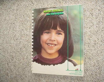 RICKY SEGALL of the partridge family lp cover notebook Ricky Segal