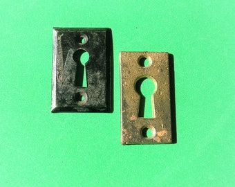 Antique Vintage Keyhole Covers DIY Jewelry Keyhole Covers Steampunk