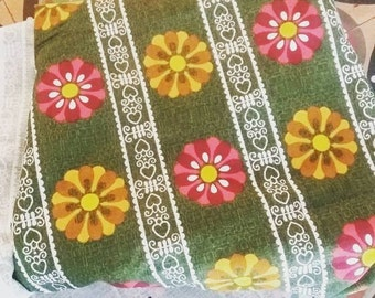 Vintage barkcloth 1970s