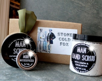 Stone Cold Fox Box. Valentines Day Gift for Him. Gift Sets for Men. Guy Gifts. Funny Gifts for Men. Gifts for Dad. Funny Father's Day.