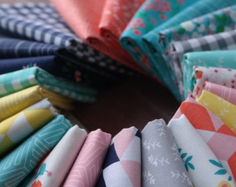 WINDHAM Maribel 23 pc Full Collection Bundle, Fat 8th, Fat Quarter, Half Yard, 1 Yard, Introducing in the Woods - Fat 16ths! Annabel Wrigley