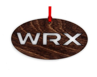 Wooden Subaru 2015 - 2016 WRX Ornament