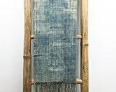 Vintage African Indigo Mudcloth Scarf | JACKSON