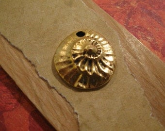 Guadalupe Charm in Antique Gold from Nunn Design