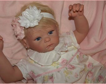 Jasmine Kate ~  Reborn Kelly face by Secrist Dolls~ Janie and Jack outfit