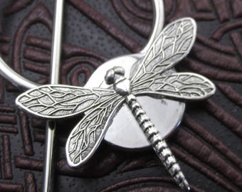 Dragonfly Shawl Pin Scarf Pin Dragonfly Sweater Pin Scarf Pin Hair stick barrette