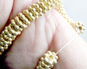 BALI, SPACER, BEADS, Vermeil, Gold, Silver,Antiqued, Wheel, Daisy,6mm,