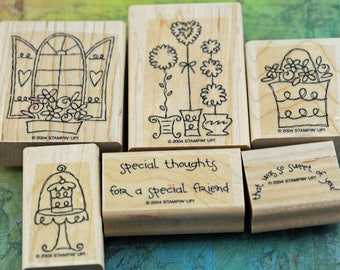 """Stampin' Up Stamp Set Retired """"Sweet of You"""""""