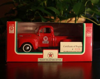 1948 Ford F1 PickUp Truck Die Cast Metal Collectible - Texaco Collector's Edition - NIB