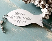 FATHER Of The BRIDE Gift, Personalized Fishing Lure, Custom Fishing Lure, Gift For Father, Wedding Gift For Dad, Personalized Lure
