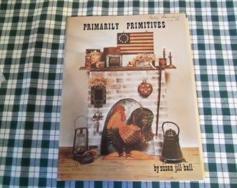 Primarily Primitives Book By Susan Jill Hall