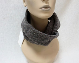 Hand Knit Classic Wool Infinity/Circle Scarf - Free Shipping in US - teenagers size