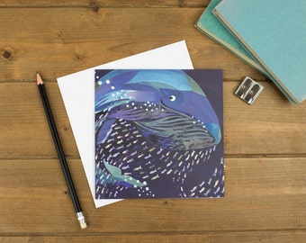 Whale of a Time Greetings Card