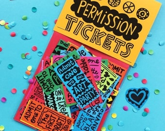 Permission Tickets (Creative Mix)