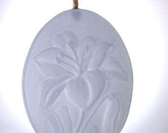 GIFT FOR HER - flower - ornament - Gift for Wife - Housewarming Gift - handmade - porcelain - flower ornament - porcelain ornament -