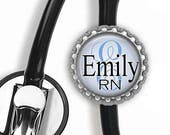 ON SALE - Personalized Stethoscope ID Tag - Nursing Student, Gifts for Nurses, Student Nurse Gift, Graduation Gift, Thank You Gift, Gifts fo