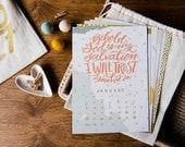 2017 Desktop Scripture Calendar