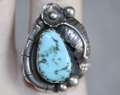 Sterling Silver 925 Turquoise Ring