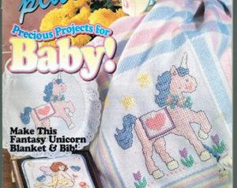 Cross-Stitch Plus, Precious Projects for Baby and Create a Classic, January 1995 and July 1995
