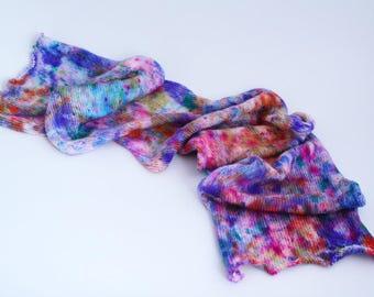 Melt all the Crayons - sock blank, sock yarn, 100g, 4-ply