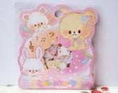 CRUX Sticker Flakes - Macaron Cafe - 42 Pieces (05518)