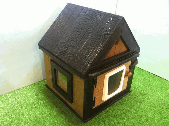 Heated Outdoor Cat House/Dual Heat (Ships Next Bus. Day),shelter, bed, condo, pod, tube, sanctuary
