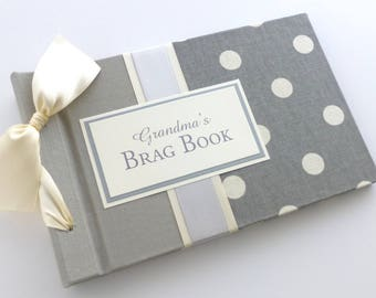 Mother's Day Brag Book album-ready to ship for Mother's Day