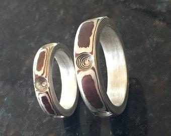 Mokume Special  2 Rings