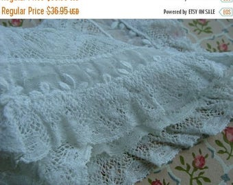 ON SALE Antique Edwardian Heirloom Tambour Brussels Intoxicating Antique Handmade Whitework Collar Downton Gatsby 24