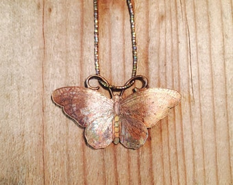 LILY LAMBERT Vintage Butterfly necklace