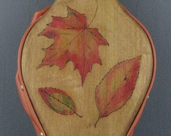 Fall Leaves Fireplace Bellows