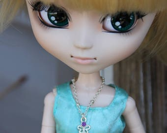 """Cute Charms Doll Necklace Jewelry  Fashion Dolls 11 1/2"""" 12 inch & Petite Slimline Monster Fairytale Pullip Blythe Dolls 6 designs"""