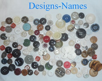 Button Mania #4 - Miscellaneous Groupings