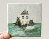 summer house / original painting on canvas