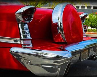 1957 Oldsmobile Super 88 - Classic Car - Garage Art - Pop Art - Fine Art Photograph