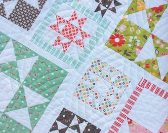 Line Dried PAPER Quilt Pattern #118