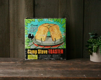 Camping Toaster Metal 70s Vintage From Nowvintage on Etsy