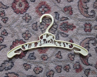 Yellow whimsical fairy tale baby hanger