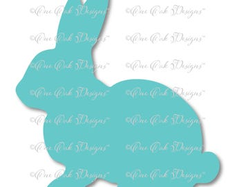 Easter Bunny Rabbit SVG File PDF / dxf / jpg / png / for Cameo, for Cricut & other electronic cutters
