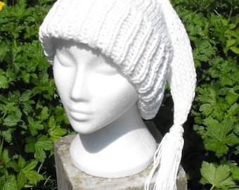 50% OFF SALE Instant Digital pdf download knitting pattern- Wee Willy Winky Superfast Slouch hat knitting pattern pdf download
