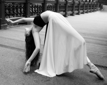 Black and White Ballet Photograph