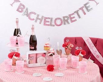 Let's Party 74 Piece Bachelorette Party Kit, Bridal shower, decor
